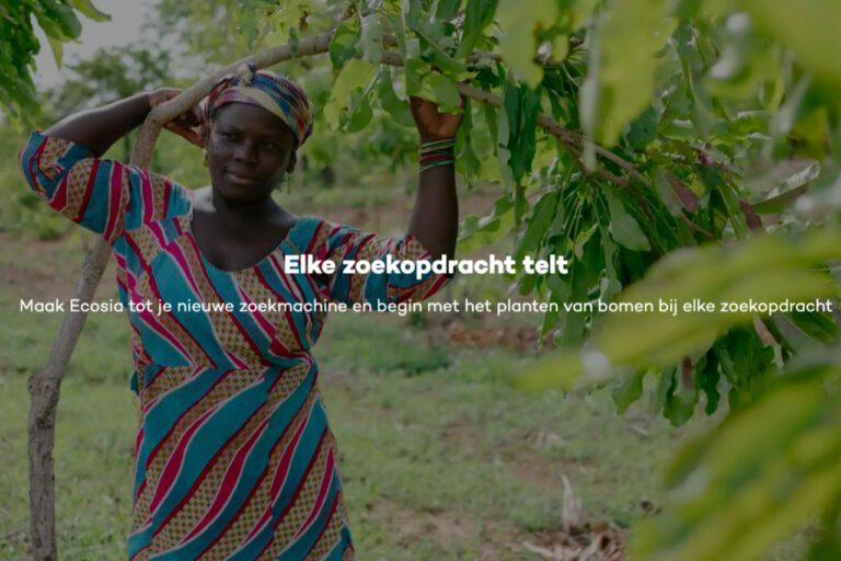 Zoekmachine Ecosia