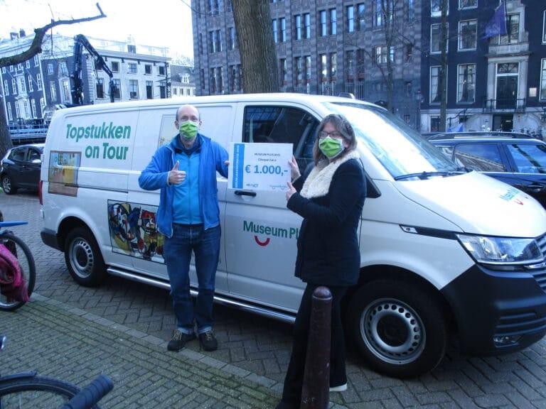 Museum Plus Bus krijgt donatie