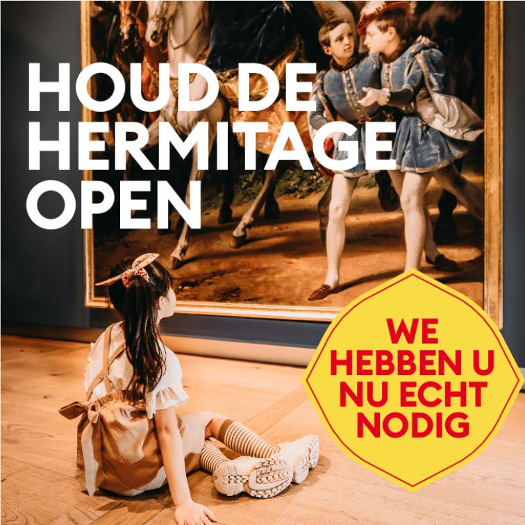 houd de Hermitage open